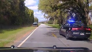 Police vs Pickup Truck High Speed Chase