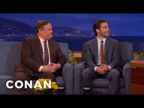 Jake Gyllenhaal Wants Andy Richter To Play Him In A Movie   CONAN on TBS