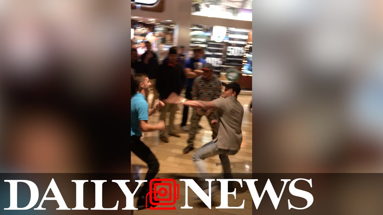 Black Friday fight at Louisville mall
