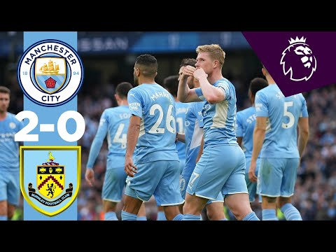 Manchester City Burnley Goals And Highlights
