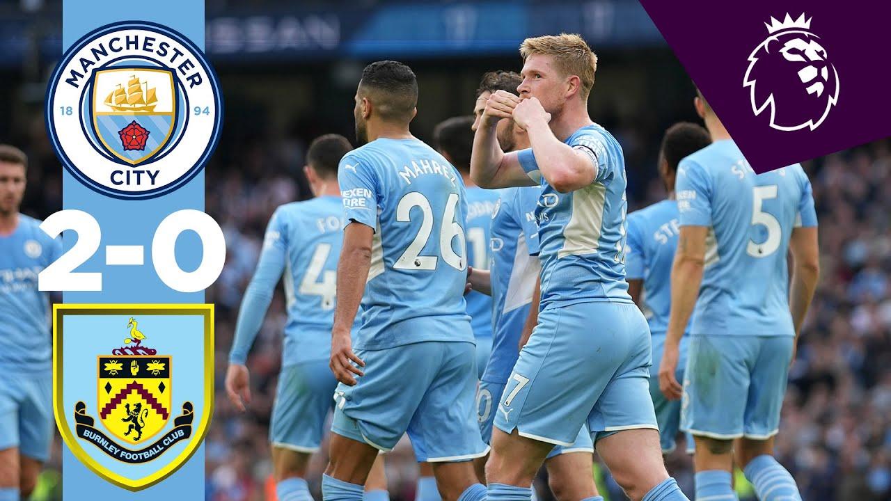 Download Man City Highlights! | City 2-0 Burnley | Bernardo Silva, Kevin De Bruyne | Premier League