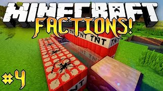 """TNT CANNON!"" - Factions Modded (MINECRAFT MODDED FACTIONS) - #4"