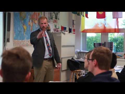 'Hiphoponomics': Delaware Military Academy teacher uses rap to teach economics