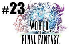 Волшебная кошка и цепь в небе - World of Final Fantasy - #23