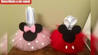 Ideas Decoración Para Fiesta De Niñas Con Minnie Mouse Youtube