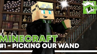 Minecraft Witchcraft And Wizardry (Harry Potter RPG) - Part 1 - Picking Our Wand