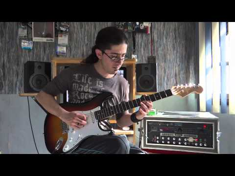 Steve Vai - Oooo - Guitar solo performance by Cesar Huesca
