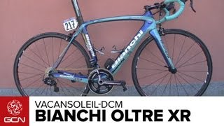 Bianchi Oltre XR Vacansoleil-DCM Team Bike