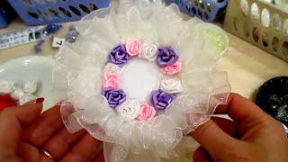 Свадебное блюдце для колец. A wedding saucer for the rings.