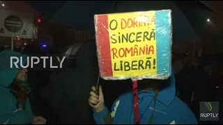 Romania: Anti-corruption protest continues to draw thousands