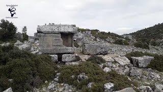 Süper Kaya Mezarı Lahit Mezar Alanı!