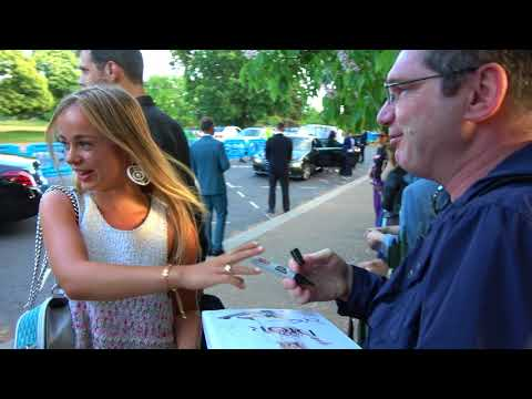 Lady Amelia Windsor signs her 'first ever autograph'