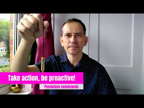 Take actions, be proactive - pendulum commands