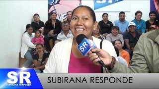 CARLOS SUBIRANA RESPONDE   27 09 2016