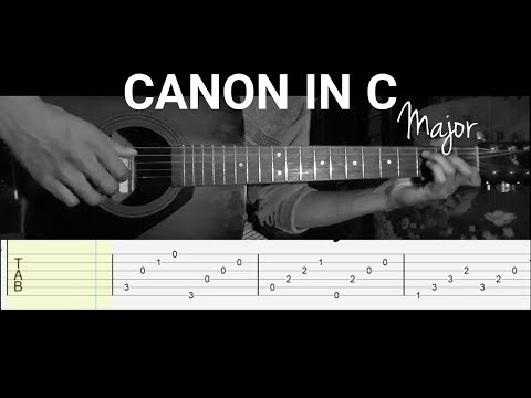 Canon in C - Fingerstyle Guitar Cover | Tab [🅔🅐🅢🅨]