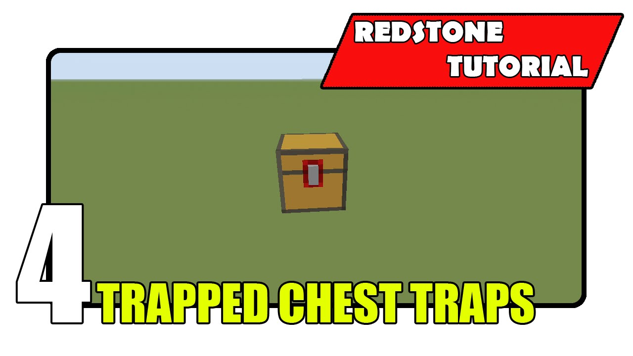 how to build a trapped chest