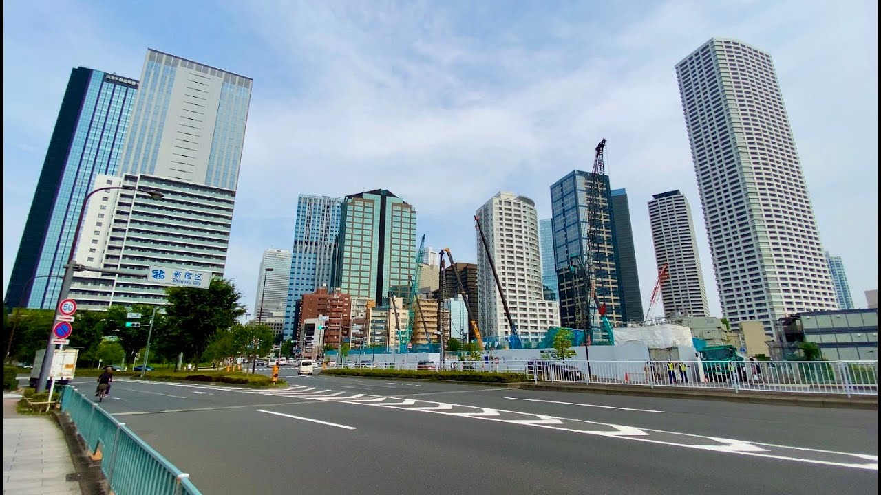 【4K】Walk on NakanoSakaue(中野坂上) at Tokyo【2020】