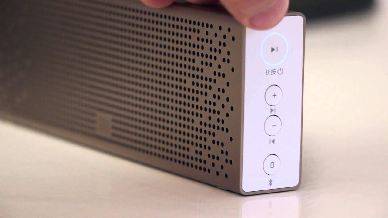 Обзор новой колонки Xiaomi Mi bluetooth speaker 2015 - YouTube
