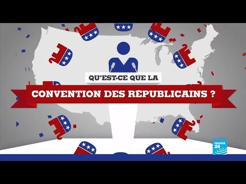 États-Unis : Qu'est-ce que la convention des Républicains ? #POSTER