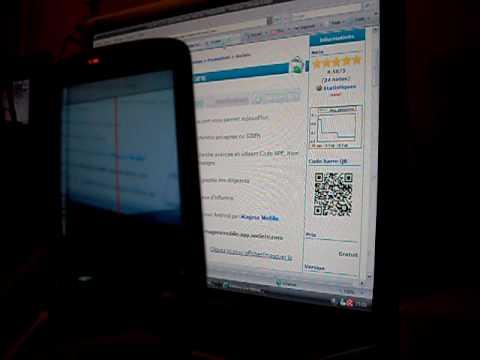 Barcode Scanner avec HTC Tattoo