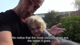 papa vlog (daddy blog) tom wordt zindelijk (potty training tom)