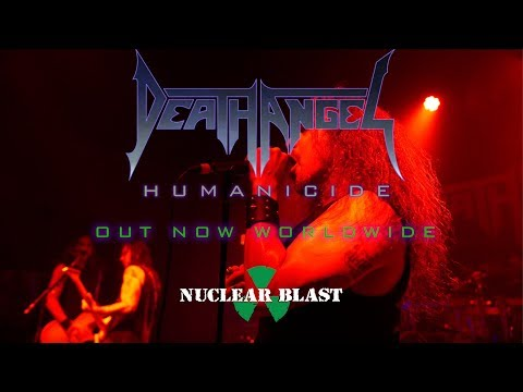 DEATH ANGEL - 'Humanicide' is out now! (OFFICIAL ALBUM TRAILER)