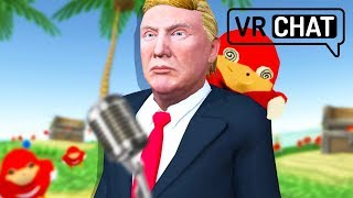 VRChat Abridged [DONNY TROMP FINDS DE WHEY!] 😂 - VRChat Funny Moments Gameplay