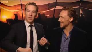 Benedict Cumberbatch - War Horse Interview on BBC Film 2012 part1/2