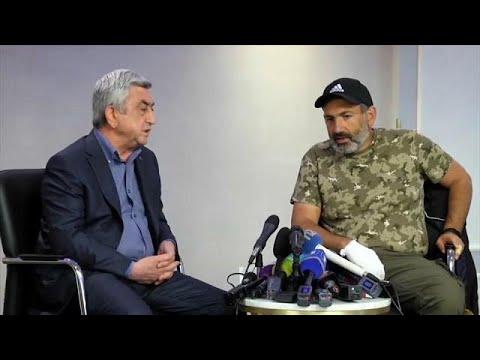 euronews (en español): Detenido Nikol Pashinián, principal líder opositor armenio