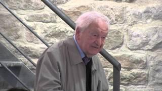 Edmon Gimeno, supervivent de Buchenwald, a Gandesa (Octubre 2013)