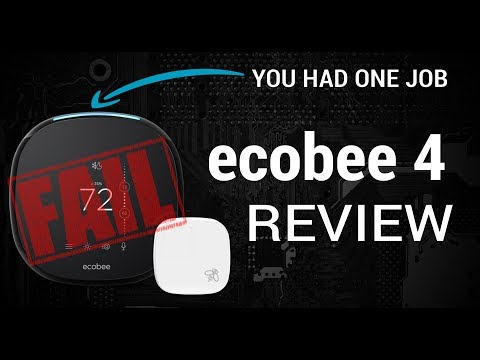 Ecobee 4 Review - and why I Returned It