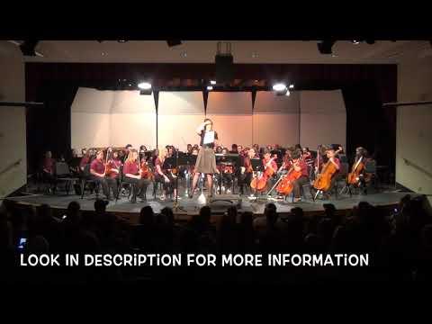 Rhodes Junior High School Fall Orchestra Concert 2018