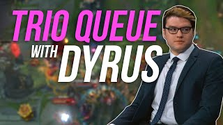 Imaqtpie - TRIO QUEUE WITH DYRUS ft. IWDominate