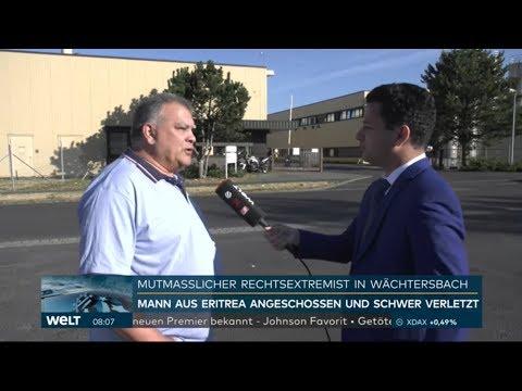 WELT INTERVIEW: Augenzeuge berichtet von dem Ablauf des Anschlags
