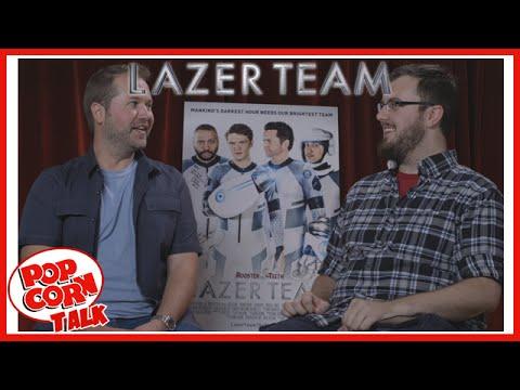 Lazer Team's Matt Hullum @ RTX 2015 | Popcorn Talk Interviews