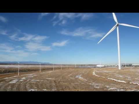 V100 1.8 Megawatt Wind Turbine - Pueblo, Colorado