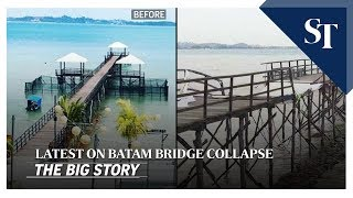The Latest Updates On The Batam Bridge Collapse | The Big Story | The Straits Times