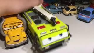 Disney Pixar Cars 3 miss fritter diecast review
