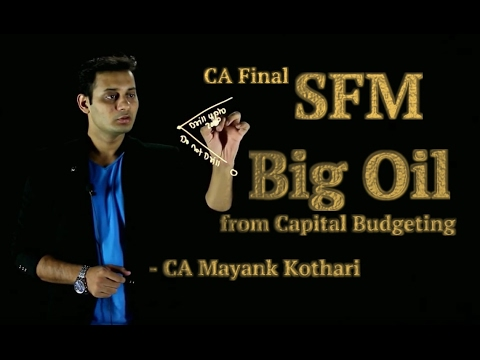 Big Oil Drilling _CapitalBudgeting_ | CA Final SFM | CS FTFM