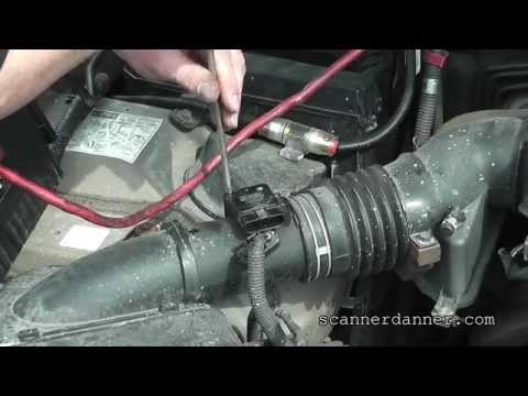 How to identify and clean a dirty MAF sensor (Lexus)