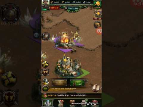 CLASH OF KINGS (COK) ANCIENT BATTLEFIELD Showing How To Play For Free In AB