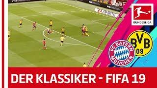 FC Bayern München vs. Borussia Dortmund - FIFA 19 Prediction With EA Sports