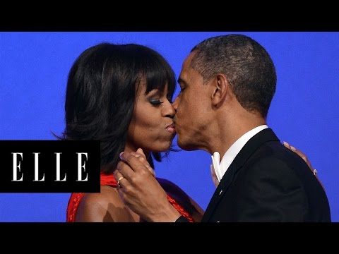 22 of Barack & Michelle Obama's Cutest Moments | ELLE
