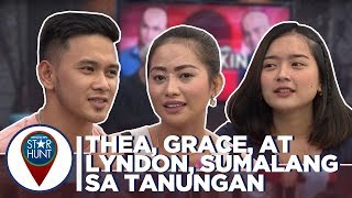 Camp Star Hunt: Thea, Grace, at Lyndon, sumabak sa mainit na tanungan nina Kim at Kin