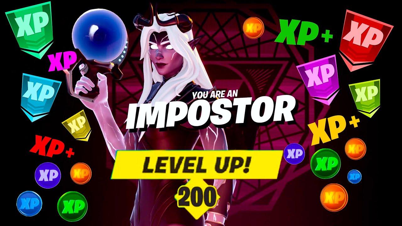 Download Fortnite Season 8 INSANE XP Method in Impostors! LEVEL 200 in 4 DAYS! (Explained!)