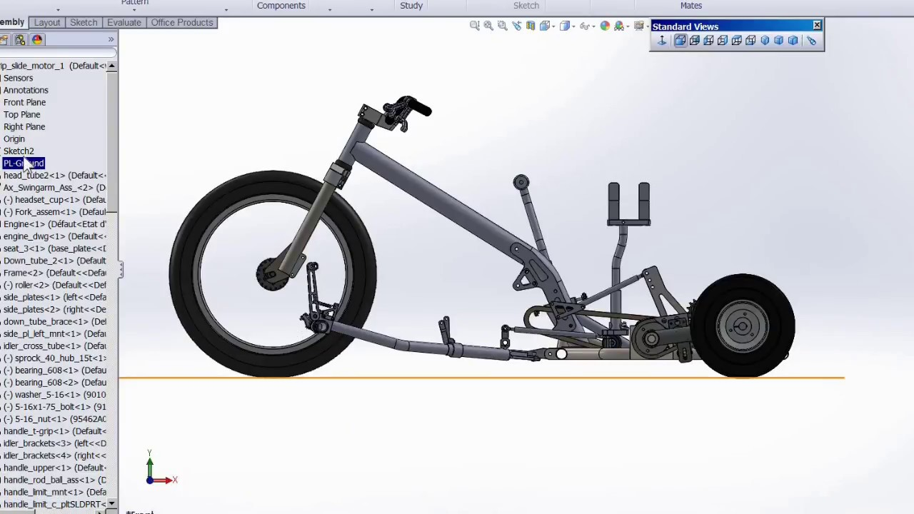 Building a variable traction drift trike -part 2 - frame jig - YouTube