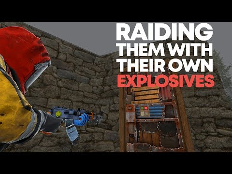 Raiding Them With Their Own Explosives | Rust (Finale) thumbnail