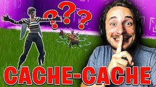 CACHE-CACHE EN DESSOUS DU CUBE EN SERVEUR PRIVÉ SUR FORTNITE BATTLE ROYALE !!!