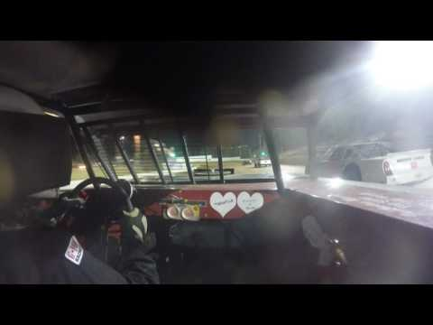 Brian Weyandt in car cam @ Bedford Speedway 5-19-17 Semi Lates/Street Stocks