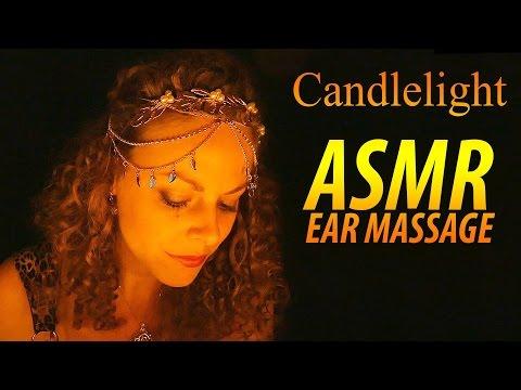 ASMR Ear Massage, Ear To Ear ASMR Whisper, Ear Cupping, Blowing & Brushing Binaural Sleep Relaxation